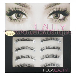 Gene False Profesionale Hand Made 4 Seturi, Lovely Eyes S-03