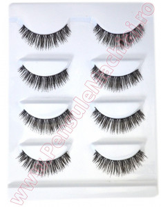 Gene False Profesionale Hand Made, 4 seturi - Oriental Eyelashes F3