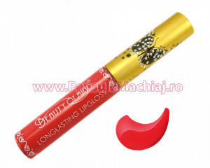 Lip Gloss rezistent la transfer mat Beauty of Mind #05 - Jolly Red