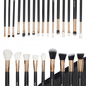 Set 25 pensule machiaj Exclusive Gold Glam + Borseta Cadou