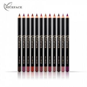 Set Creioane de Buze 12 Culori NiceFace - Smooth Creionette