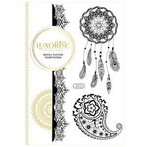 Tatuaj Temporar LUXORISE Henna Temptation Dream Catcher J007