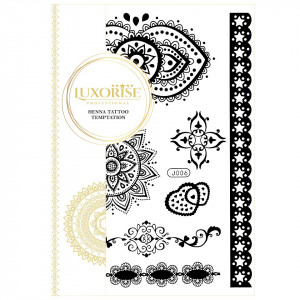 Tatuaj Temporar LUXORISE Henna Temptation From India J006
