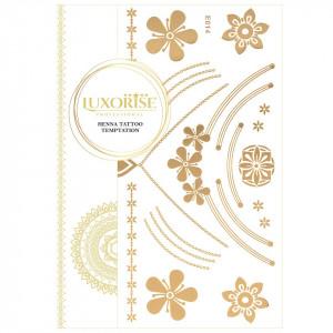 Tatuaj Temporar LUXORISE Henna Temptation Gold Edition E014