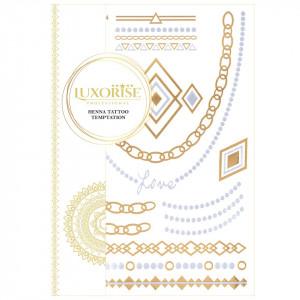 Tatuaj Temporar LUXORISE Henna Temptation Gold Edition E024