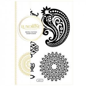 Tatuaj Temporar LUXORISE Henna Temptation Temporary Inked J011