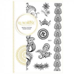 Tatuaj Temporar LUXORISE Henna Temptation Ultimate Existence J021