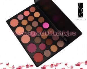 Trusa Farduri 26 culori cu blush Fraulein38 Midnight Passion