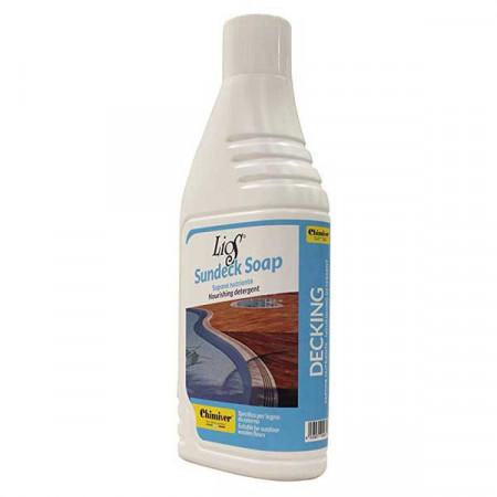 LIOS SUNDECK SOAP-sredstvo za čišćenje drvenih terasa/deking podova 1L
