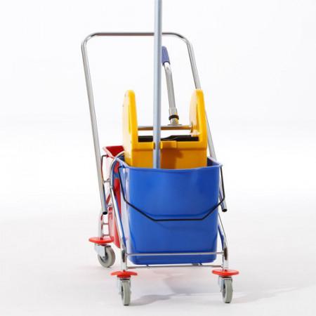 Kolica za čišćenje podova metalni ram - 23L x 2
