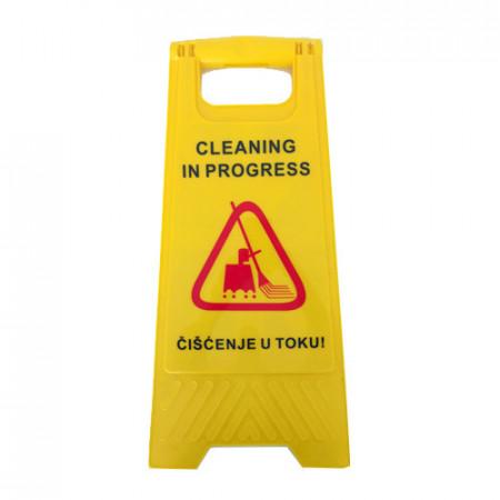 sve za pod - Znak upozorenja - Čišćenje u toku