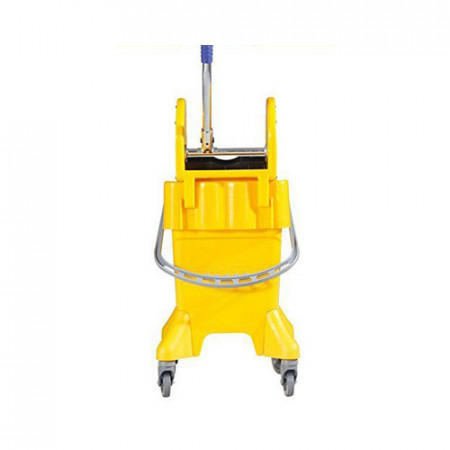 Kolica za čišćenje podova sa točkićima i cediljkom - 31L