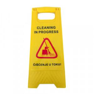 Znak upozorenja - Čišćenje u toku