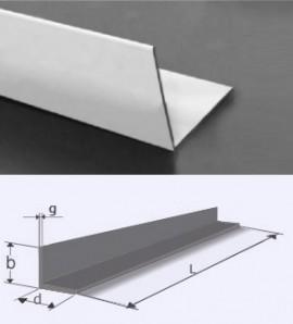 Poze Profil L (cornier) aluminiu 50x50x5 mm, aliaj 6060, T6