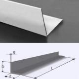 Profil L (cornier) aluminiu 50x50x5 mm, aliaj 6060, T6