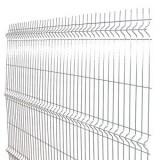 Panou bordurat zincat gard 2000x2500x3.5 (mm)