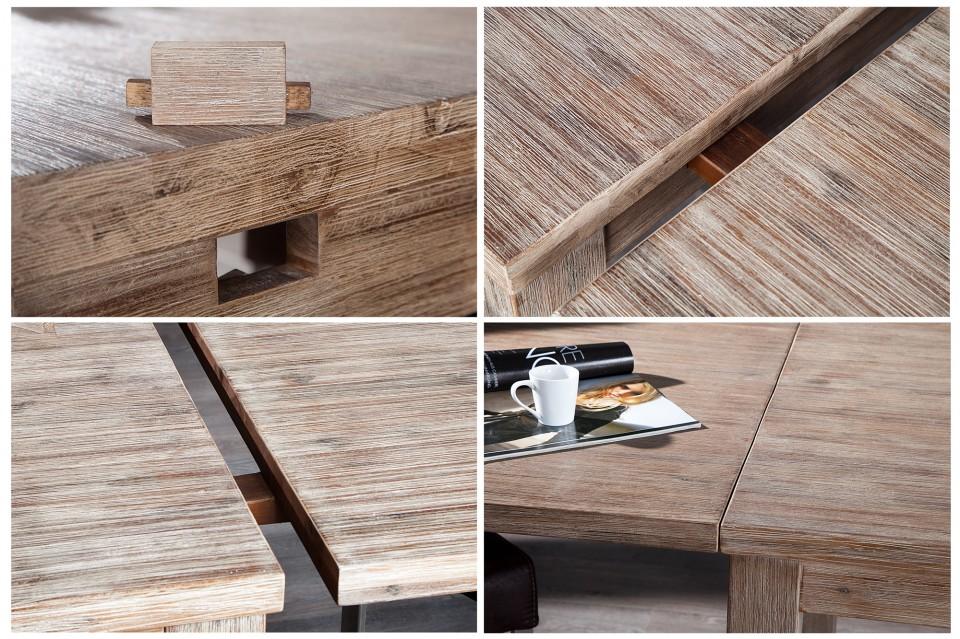 Uitschuifbare Eettafel 160 Cm.Eettafel Model Montreal 160cm Verlengbaar Naar 260cm