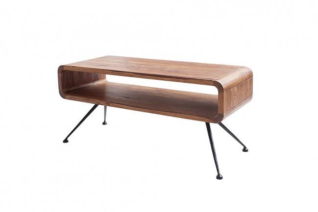Designer Salon Tafel.Design Salon Tafel Alpha 100 Cm Sheesham Leverbaar In