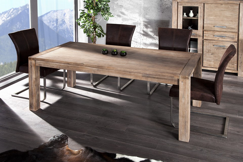eettafel model montreal 180cm verlengbaar naar 230cm. Black Bedroom Furniture Sets. Home Design Ideas