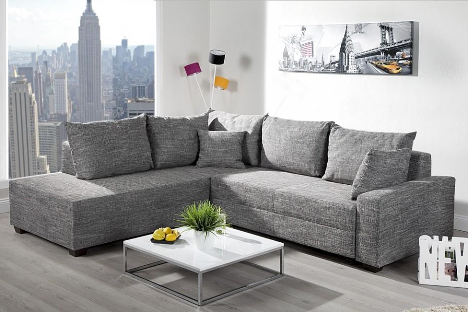loungebank model apartment grijs. Black Bedroom Furniture Sets. Home Design Ideas