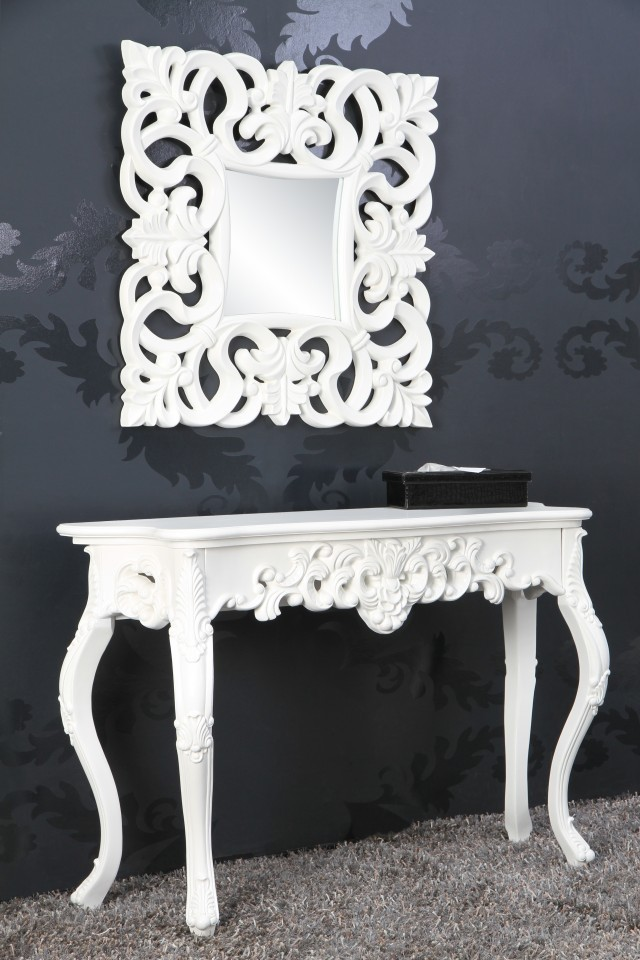 sidetable model venice wit 15628. Black Bedroom Furniture Sets. Home Design Ideas