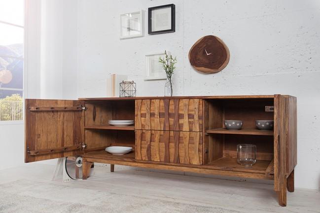 Design dressoir retro 160cm sheesham for Dressoir design