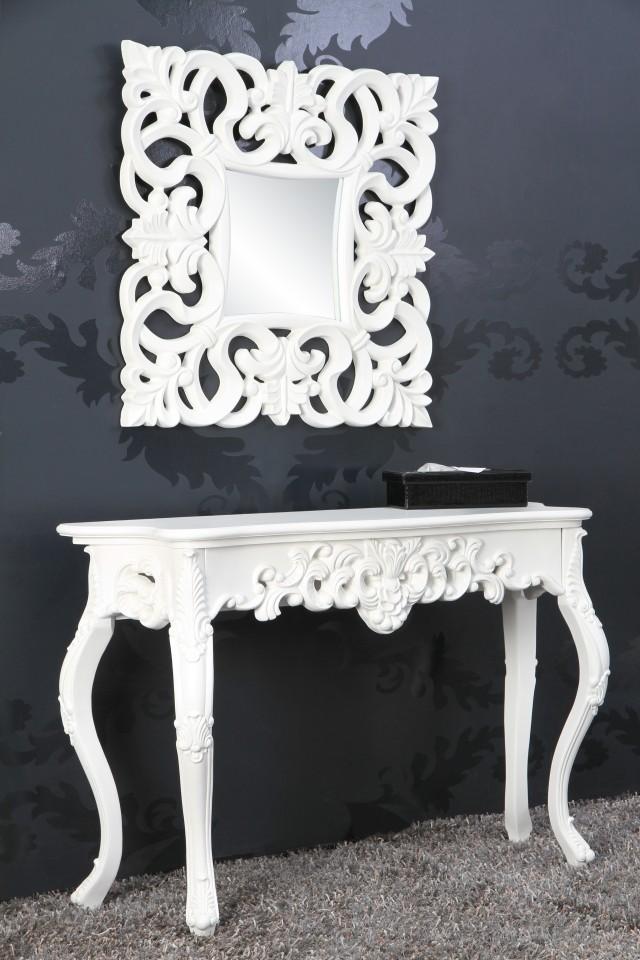 Barok Witte Sidetable.Sidetable Model Venice Wit 15635
