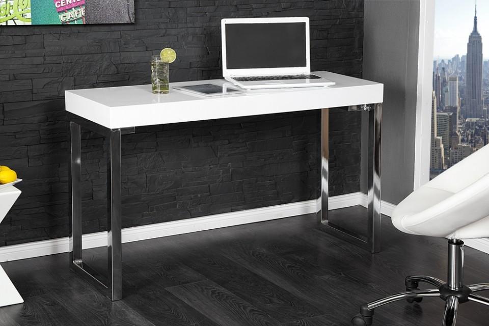 Witte Hoogglans Sidetable.Hoogglans Witte Side Table Moderne Interieurs