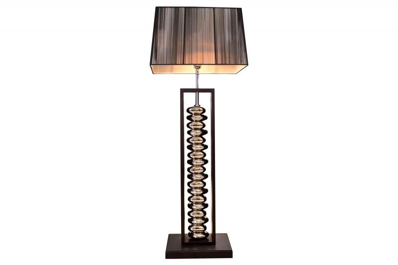Staande design lamp gracia cm zilver