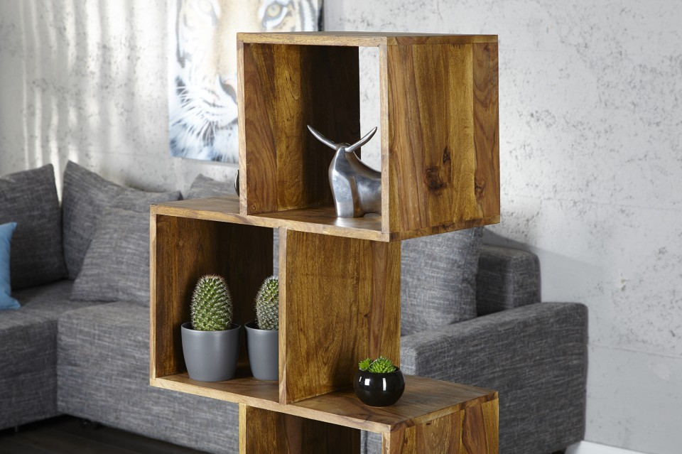 Wandrek model makassar kubus 150cm hoog - Kubus interieurs ...