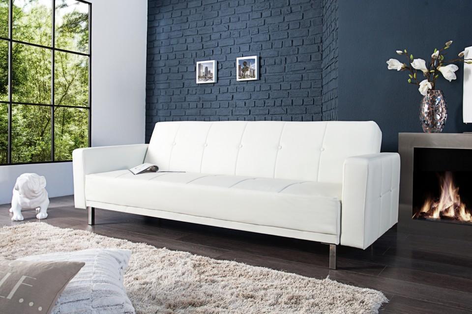 bank model manhattan slaapfunctie wit. Black Bedroom Furniture Sets. Home Design Ideas