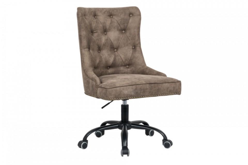 Design bureaustoel chesterfield ontwerp victor lichtbruin met