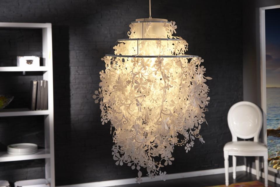 Hanglamp model primavera wit - Zeer grote eettafel ...
