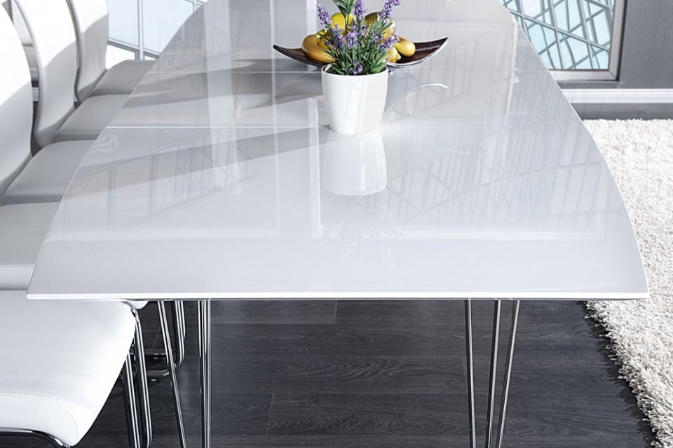 Moderne Eettafel Uitschuifbaar.Eettafel Model Continental Uitschuifbaar