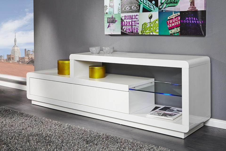 Tv hifi meubel model phase led for Hifi meubel