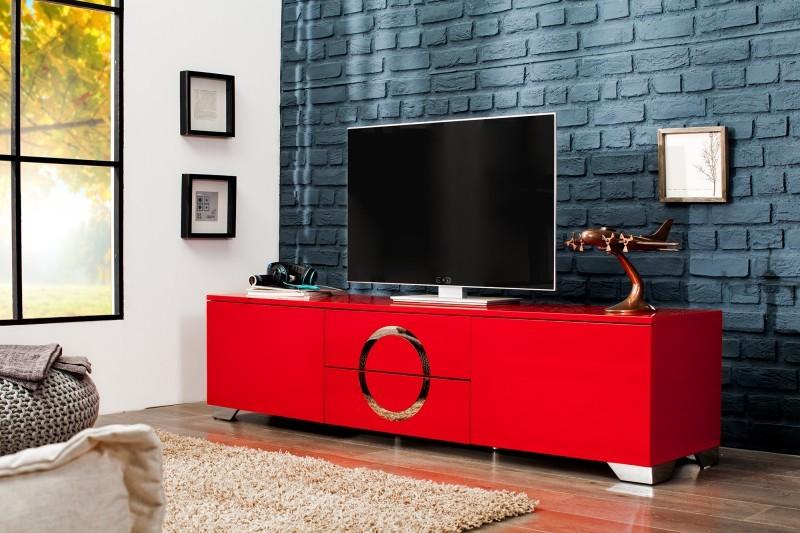 Tv Meubel Afbeeldingen : Tv hifi meubel model zhen cm hoogglans rood