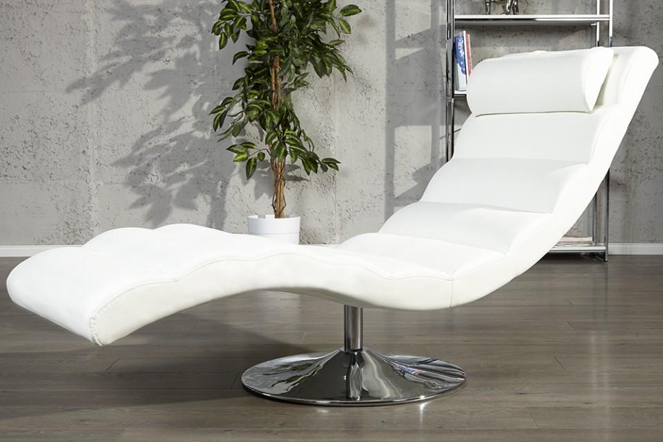 relaxstoel model relaxo wit