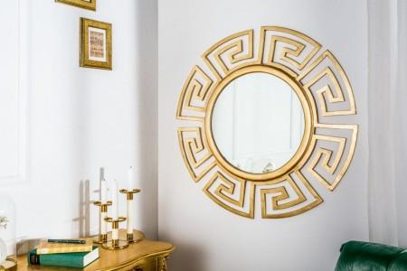 design goudkleur wand spiegel EUPHORIA 85cm Leverbaar in december