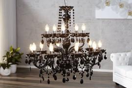 Hanglamp Model: Konings  - 15 armen Zwart afbeeldingen