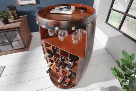 wijnrek BODEGA 97cm Wijnvat voor 24 flessen