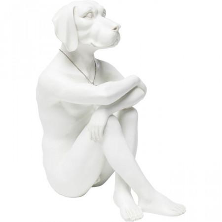 Decoratief beeldje Gangster Dog Cream