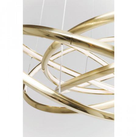 Hanglamp Saturnus LED goud groot 150cm