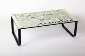 Salontafel model: Dagblad afbeeldingen
