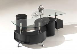 Salontafel Model: India II - Zwart
