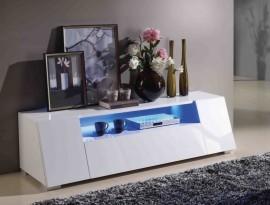 TV / HiFi Meubel Model: Melbourne-DI + LED afbeeldingen