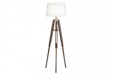 Vloerlamp Grenen Hout Industriële Retro 158 cm