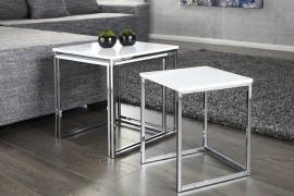 moderne Salontafel / Bijzettafel Model: Fusion - 3 Set