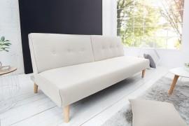 Moderne slaapbank 180 cm BALTIC Beige afbeeldingen