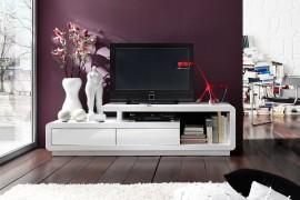 TV / HiFi Meubel Model: Spring - Wit afbeeldingen