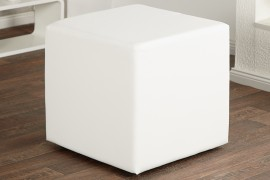 Hocker Model: Monolit - wit - 30156 afbeeldingen